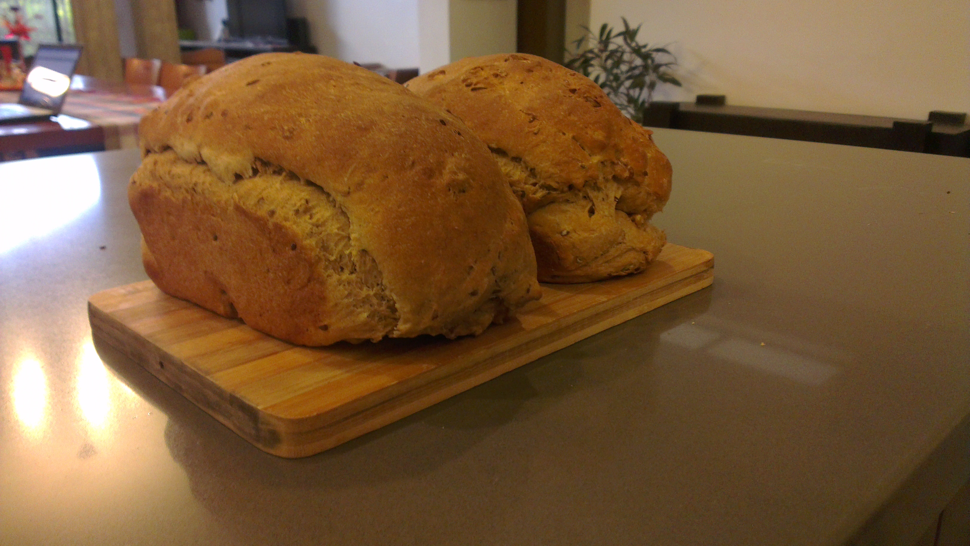 Recipe for my basic, really fast, really comforting bread